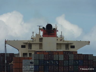 MOL CONTINUITY Departing Southampton PDM 16-07-2014 15-59-27