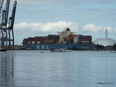 MOL CONTINUITY Departing Southampton PDM 16-07-2014 16-01-49