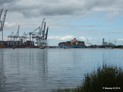 MOL CONTINUITY Departing Southampton PDM 16-07-2014 16-01-01