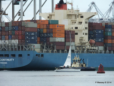 MOL CONTINUITY Departing Southampton PDM 16-07-2014 15-47-41