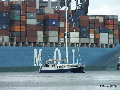 MOL CONTINUITY Departing Southampton PDM 16-07-2014 15-51-32