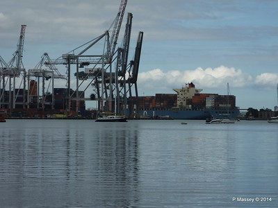 MOL CONTINUITY Departing Southampton PDM 16-07-2014 16-03-06