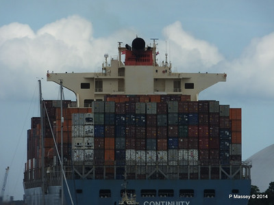 MOL CONTINUITY Departing Southampton PDM 16-07-2014 15-59-11