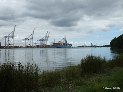 MOL CONTINUITY Departing Southampton PDM 16-07-2014 15-52-44