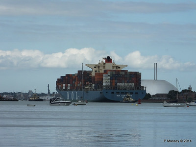 MOL CONTINUITY Departing Southampton PDM 16-07-2014 16-00-13