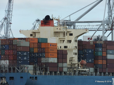 MOL CONTINUITY Departing Southampton PDM 16-07-2014 15-51-59