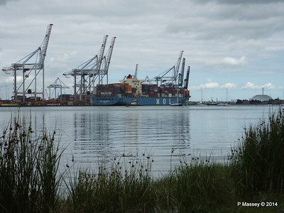 MOL CONTINUITY Departing Southampton PDM 16-07-2014 15-50-01