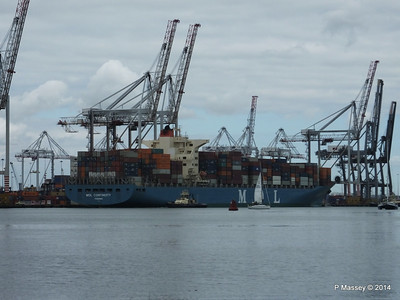 MOL CONTINUITY Departing Southampton PDM 16-07-2014 15-46-12