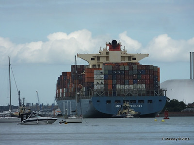MOL CONTINUITY Departing Southampton PDM 16-07-2014 15-59-33