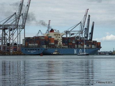 MOL CONTINUITY Departing Southampton PDM 16-07-2014 15-51-03