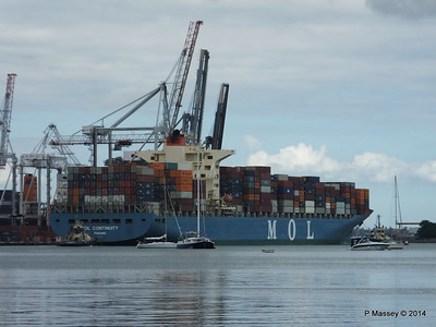 MOL CONTINUITY Departing Southampton PDM 16-07-2014 15-54-22