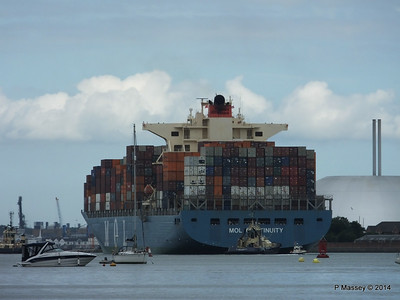 MOL CONTINUITY Departing Southampton PDM 16-07-2014 15-59-45