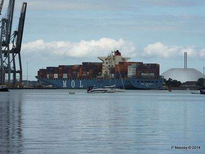 MOL CONTINUITY Departing Southampton PDM 16-07-2014 16-01-050