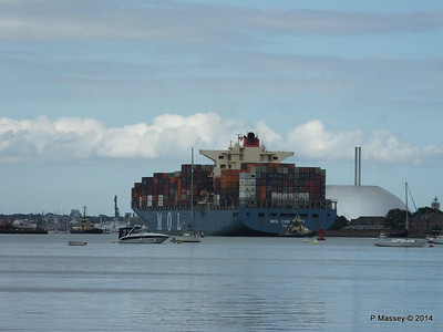 MOL CONTINUITY Departing Southampton PDM 16-07-2014 16-00-15