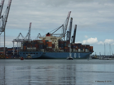 MOL CONTINUITY Departing Southampton PDM 16-07-2014 15-52-37