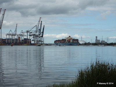 MOL CONTINUITY Departing Southampton PDM 16-07-2014 16-01-00
