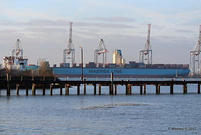 EDITH MAERSK over Husbands Jetty Southampton PDM 17-01-2017 14-55-33