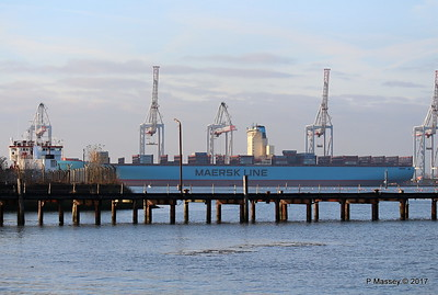 EDITH MAERSK over Husbands Jetty Southampton PDM 17-01-2017 14-55-31