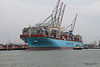MAERSK EDINBURGH Berthing Southampton PDM 23-03-2017 10-26-41