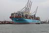 MAERSK EDINBURGH Berthing Southampton PDM 23-03-2017 10-26-42