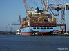 SUSAN MAERSK Outbound Southampton 17 Feb 2015 17-02-2015 12-39-31