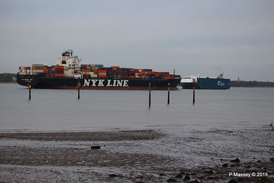 7 May 2015 NYK CONSTELLATION Outbound Southampton