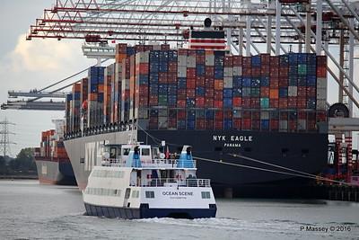 OCEAN SCENE NYK EAGLE SEOUL EXPRESS Southampton PDM 12-10-2016 16-41-53