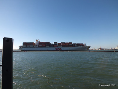 OOCL KAOHSIUNG Arriving Southampton PDM 04-11-2013 12-03-36