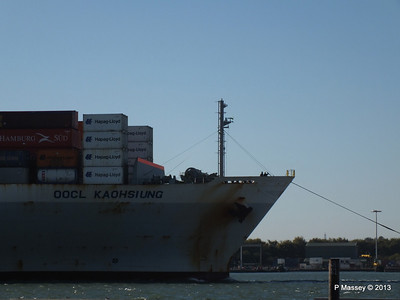 OOCL KAOHSIUNG Arriving Southampton PDM 04-11-2013 12-02-56