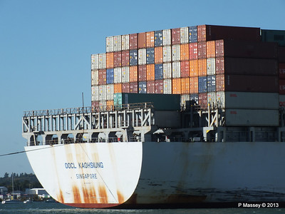 OOCL KAOHSIUNG Arriving Southampton PDM 04-11-2013 12-05-05