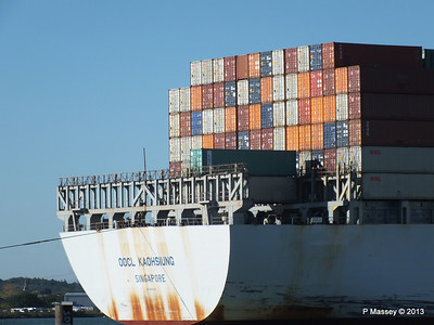 OOCL KAOHSIUNG Arriving Southampton PDM 04-11-2013 12-05-00