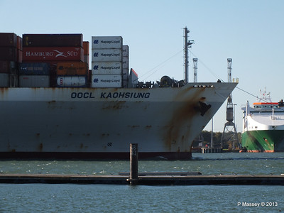 OOCL KAOHSIUNG Arriving Southampton PDM 04-11-2013 12-03-05