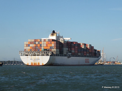OOCL KAOHSIUNG Arriving Southampton PDM 04-11-2013 12-06-34