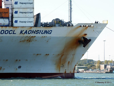 OOCL KAOHSIUNG Arriving Southampton PDM 04-11-2013 12-03-21