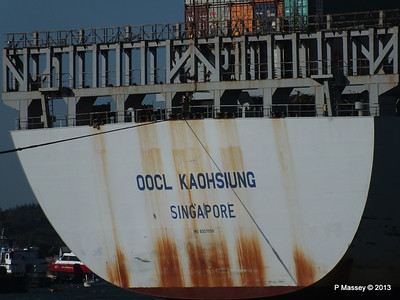 OOCL KAOHSIUNG Arriving Southampton PDM 04-11-2013 12-05-13
