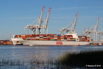 OOCL SOUTHAMPTON Departing Southampton PDM 26-08-2016 19-14-52