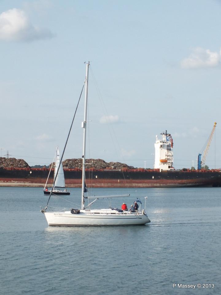 QINGDAO TOWER laid up Southampton PDM 26-06-2013 18-22-23