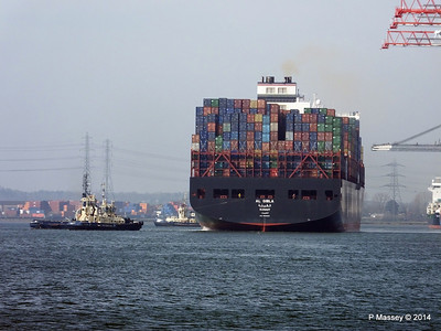 AL QIBLA Departing Southampton PDM 08-03-2014 12-49-31