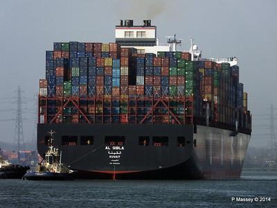 AL QIBLA Departing Southampton PDM 08-03-2014 12-50-54
