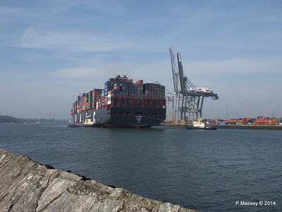 AL QIBLA Departing Southampton PDM 08-03-2014 12-57-30
