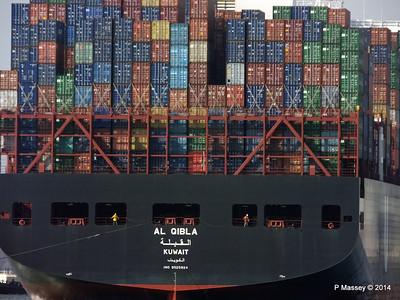 AL QIBLA Departing Southampton PDM 08-03-2014 12-50-14