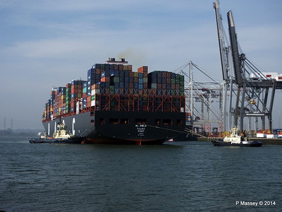 AL QIBLA Departing Southampton PDM 08-03-2014 12-57-11