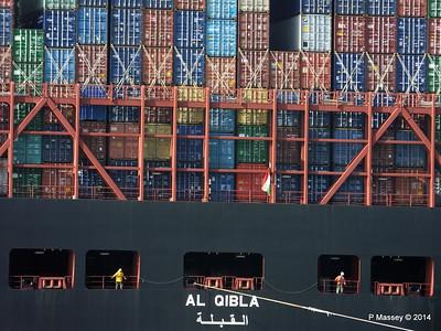 AL QIBLA Departing Southampton PDM 08-03-2014 12-56-55
