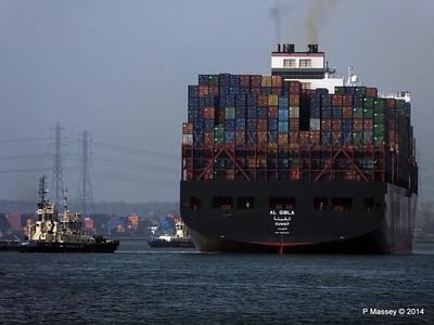 AL QIBLA Departing Southampton PDM 08-03-2014 12-49-45