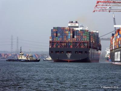 AL QIBLA Departing Southampton PDM 08-03-2014 12-48-36