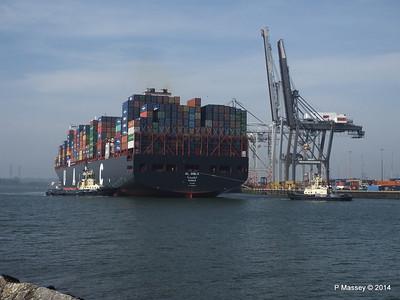 AL QIBLA Departing Southampton PDM 08-03-2014 12-57-27