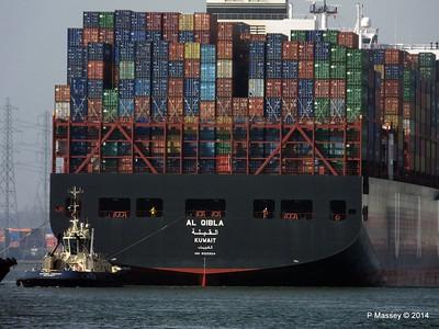 AL QIBLA Departing Southampton PDM 08-03-2014 12-50-50