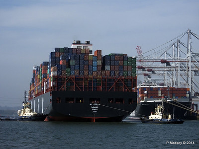 AL QIBLA Departing Southampton PDM 08-03-2014 12-56-19