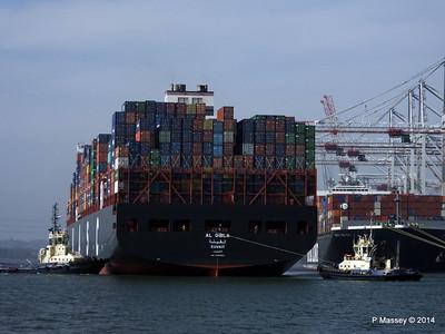AL QIBLA Departing Southampton PDM 08-03-2014 12-56-15
