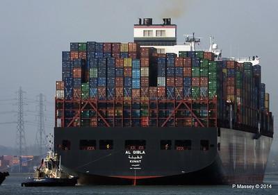 AL QIBLA Departing Southampton PDM 08-03-2014 12-50-39